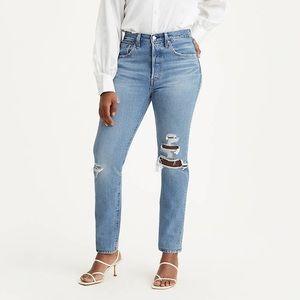 LEVI'S 501 Skinny Women's Jeans Size 31x28 Used.